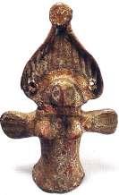Egyptisch Astarte Nieuwe Rijk