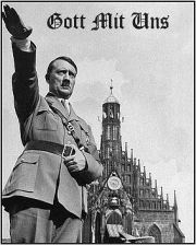 Hitler was katholiek.