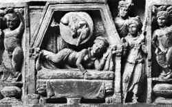 Droom van Maha Maya, Gandhara