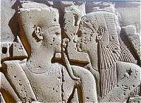 Mut en Amon in Karnak