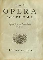 BdS, initialen van Baruch of Benedictus de Spinoza