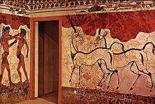 Minoische beschaving op Thera