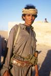 Gevoelig toeristisch gebied in Marib bewaakt door zoon van een sheikh